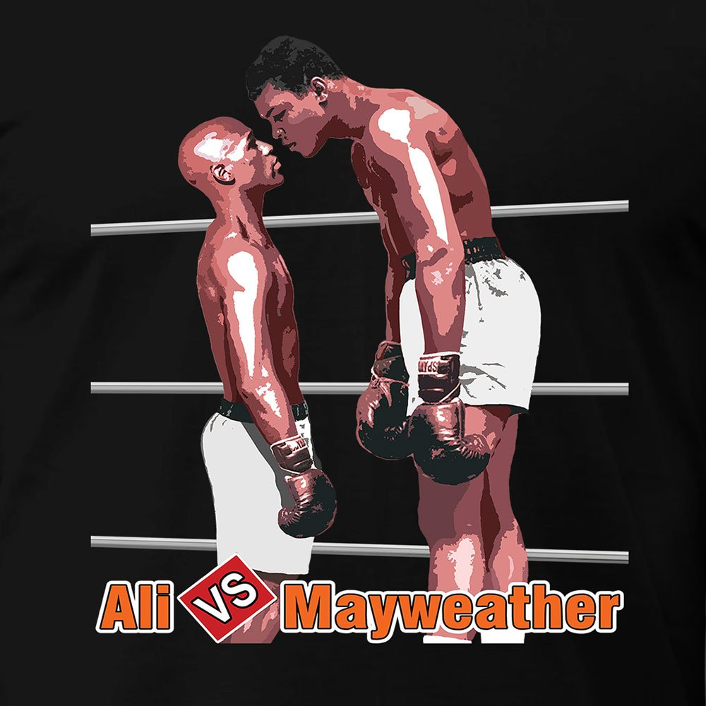 Muhammad Ali vs Floyd Mayweather FUNNY T-Shirt
