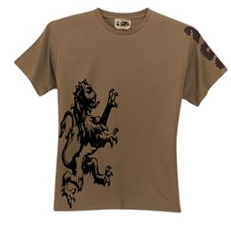 Men's Flock Applique Tee-Shirt