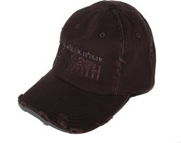 Distressed, Frayed Edge Cap
