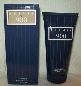 Vintage ARAMIS 900 SHOWER AND BATH GEL Men 150ml Perfume Body Fragrance Cologne