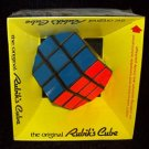 VINTAGE 1980 IDEAL RUBIK'S CUBE WITH DIRECTIONS GAME TOY SEALED ORIGINAL BOX NEW