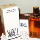 Vintage Norell Perfumed Bathing Oils 4 fl.oz. New in Box. Bath Oil Perfume Women