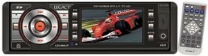 Legacy Ld34mut In-dash Dvd/cd/mp3/player W/3 Tft Digital Monitor & Tv Tuner