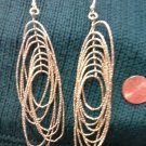 000 Earrings Gold tone Loops