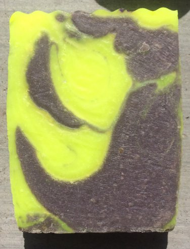 Asylum Halloween glow in the dark handmade soap
