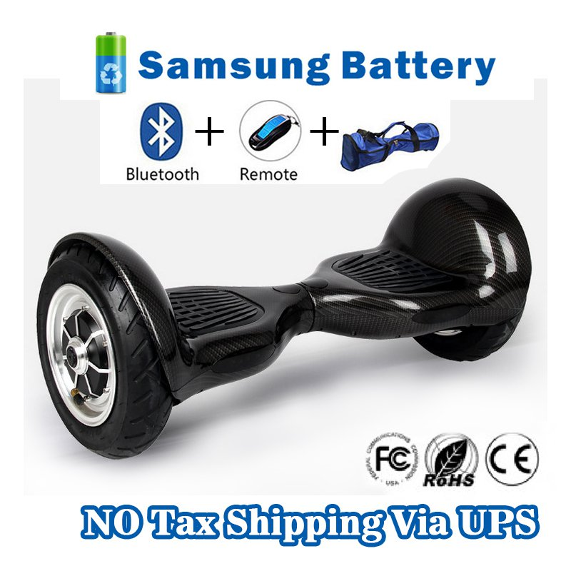 10 inch Two Wheels Smart Self Balancing scooter - Black