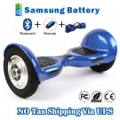 10 inch Two Wheels Smart Self Balancing scooter - Blue