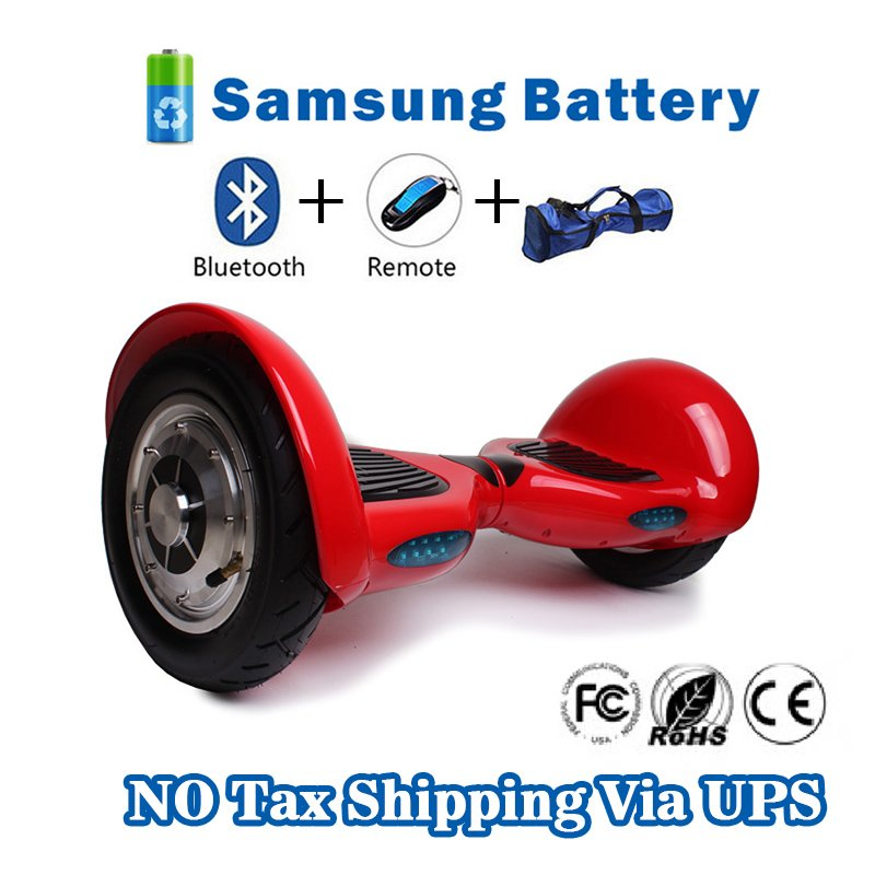 10 inch Two Wheels Smart Self Balancing scooter - Red