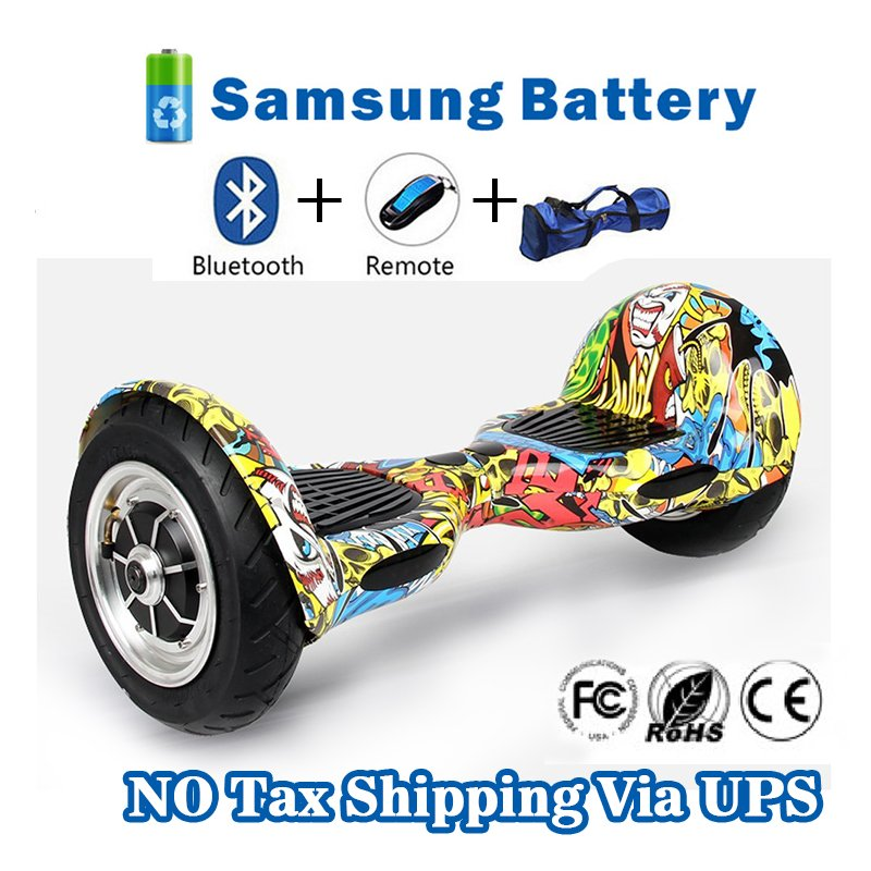 10 inch Two Wheels Hoverboard Smart Self Balancing scooter Dancing