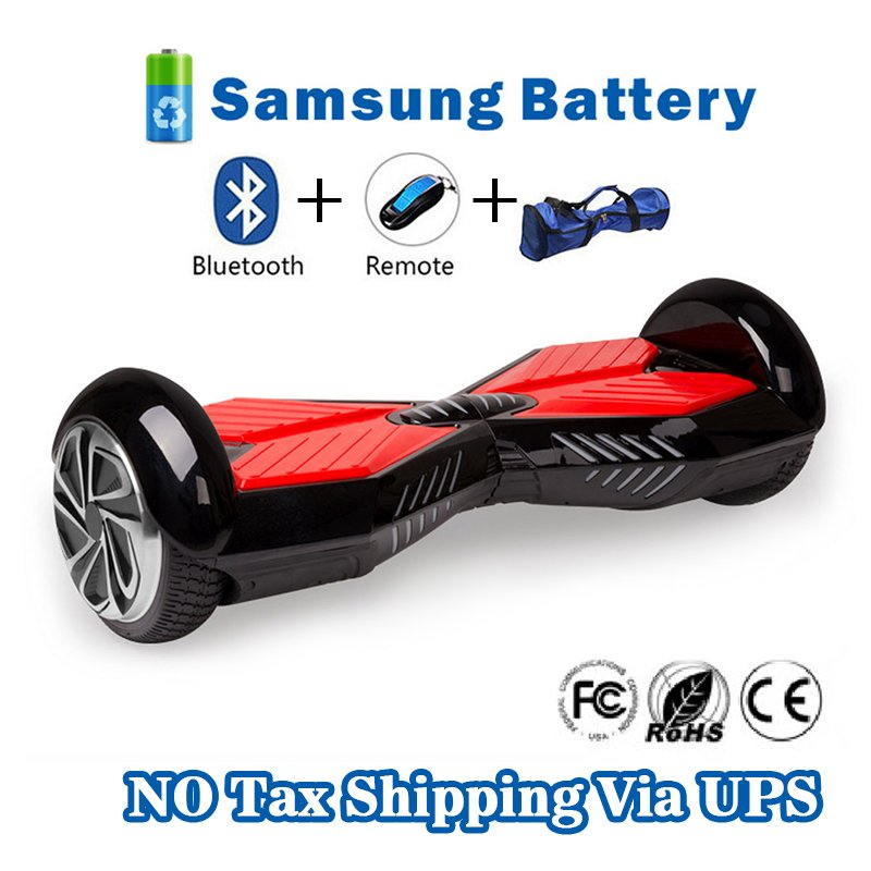 Two Wheel 4400mAh Battery Self Balancing Scooter - Transformers Black