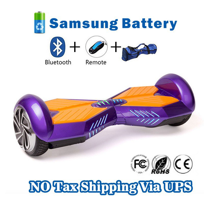 Two Wheel 4400mAh Battery Self Balancing Scooter - Transformers purple