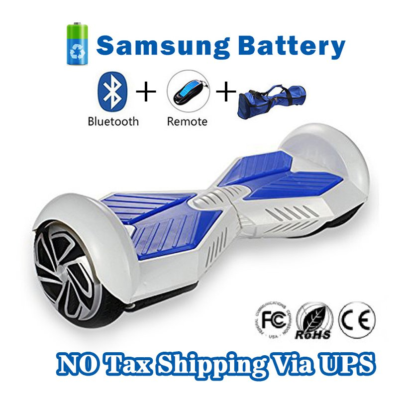 Two Wheel 4400mAh Battery Self Balancing Scooter - Transformers White