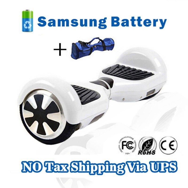Two Wheel 4400mAh Battery Self Balancing Scooter - White
