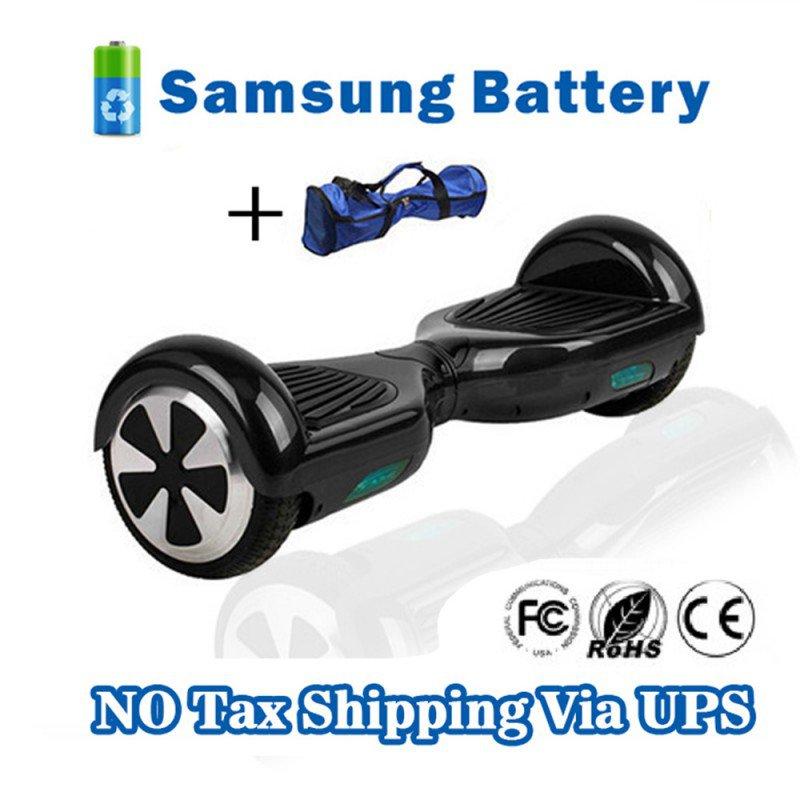 Two Wheel 4400mAh Battery Self Balancing Scooter - Black