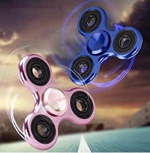 High Speed Hand Fidget Spinner Finger Gyro - Rose