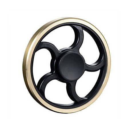 Round Shape Hand Fidget Spinner Finger Gyro Toys