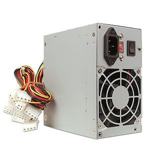 Chiefmax 450W ATX Power Supply P4 and AMD Compatible w/ 1 Serial ATA Connector