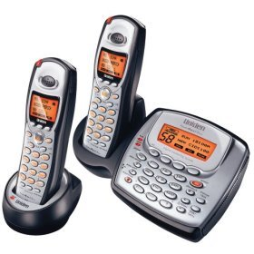 Uniden TRU8885-2 5.8 GHz Digital Cordless Phone with Dual Handsets and Answering System