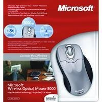 Microsoft Wireless Optical Mouse 5000 Wireless Platinum
