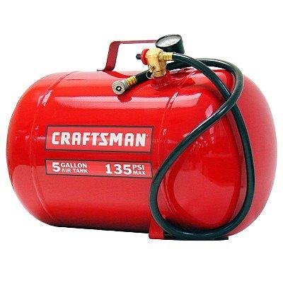 Craftsman 5 gal. Horizontal Portable Air Tank