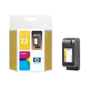 HP 23 Tri-Color Inkjet Cartridge (C1823D)