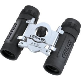 Carson Trek 8x21 Mini-Compact Binocular