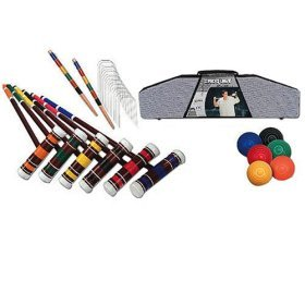 Franklin 6-Player Croquet Set With Carry Bag