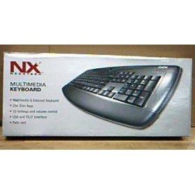 NexxTech Multimedia & Internet Keyboard NX2