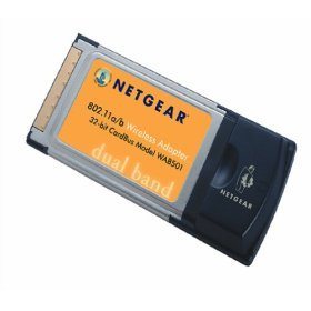 NETGEAR WAB501 Dual Band Wireless Adapter - Network Adapter - PCMCIA CardBus - 802.11b, 802.11a