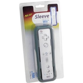 Hasbro Wii Nerf Remote Sleeve - Grey