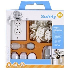 Safety 1st Child Outlets and Appliances Safety Kit - 42 Pieces