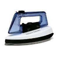 Black&Decker Stowaway Travel Iron - Steam & Dry With Travel Pouch