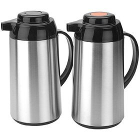 Copco Stainless Steel 1-qt. Carafes - Set of 2