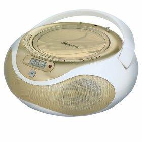 Memorex Boombox Top Load CD MP3 Player Digital AM/FM Radio