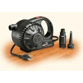 Coleman 120V AC Air Pump (Black) With Adapters