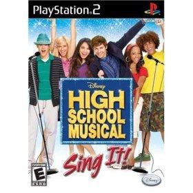 High School Musical: Sing it, by Disney - (Playstation 2)