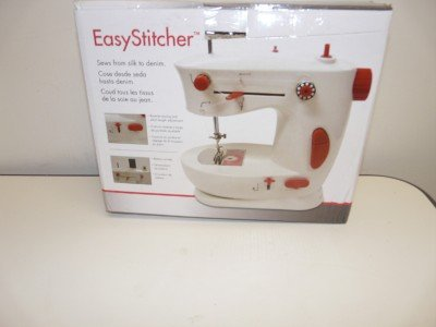 EasyStitcher Portable Mini Travel Sewing Machine - Operates On AC Electric or AA Batteries