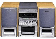 Aiwa XR-M55 Stereo Shelf System
