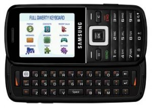 Straight Talk, Samsung T401G Prepaid Phone With Keyboard