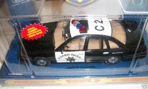 Code 3 Police Car Die-Cast Premier Edition Collectible - Ford Crown Victoria CHP Cruiser