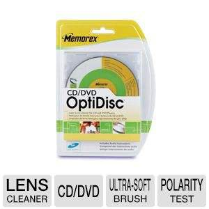 Memorex 6 Brush Laser Lens Cleaner - CD / DVD x 1 - cleaning disk (08003)
