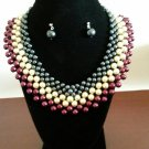 African Collar style Necklace set
