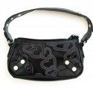 XOXO Handbags NEW Women's Black Hearts Logo Shoulder Handbag Small