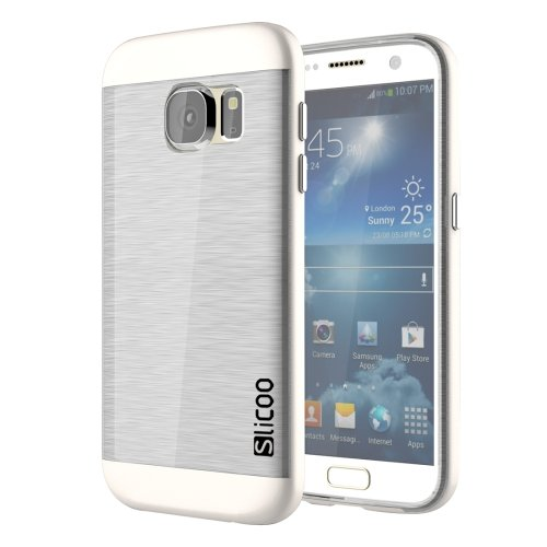 Slicoo for Galaxy S7 Edge Electroplated TPU Protective Cases