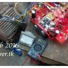 Economic pulse motor with reduced back EMF