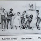 Street Sounds James Russell New Orleans Art Print Mardi Gras Rare