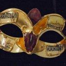 Venice Eye Mask Mardi Gras Costume Carnival Italy #4