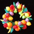 Fruit Luaua Tropical Bracelet YOUR CHOICE STYLE Mardi Gras New Orleans Party