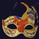 Venetian Mask Mardi Gras Drama New Orleans Flame #4