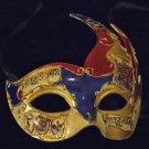 Venetian Mask Mardi Gras Drama New Orleans Flame #1